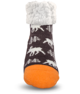 Pudus Classic Slipper Sock Moose