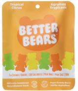 Better Bears Vegan Gummy Bears Tropical Citrus
