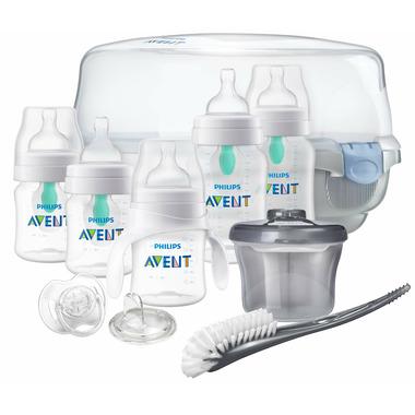 Philips AVENT AirFree Vent Bottle Newborn Essentials Set