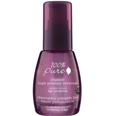 100% Pure Organic High Potency Reversal Restore Serum