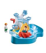 Playmobil 1.2.3 Aqua Water Wheel Carousel