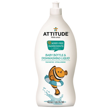 ATTITUDE Little Ones Baby Bottle & Dishwasing Liquid Pear Nectar
