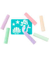 Yoobi Glitter Chalk Mermaid
