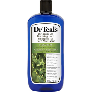 Dr Teal\'s Eucalyptus & Spearmint Foaming Bath
