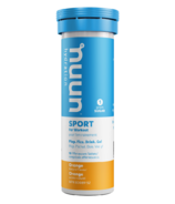 Nuun Hydration Sport for Workout Orange