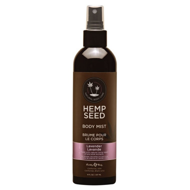 Earthly Body Hemp Seed Body Mist Lavender