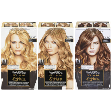 L\'Oreal Preference Glam Lights Quick Ultra-Luminizing Highlights