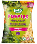 Baby Gourmet Puffies Probiotics Cheesy Broccolli Quinoa Puff Snacks