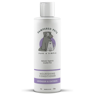 Pampered Pets Pet Conditioner Lavender Oatmeal