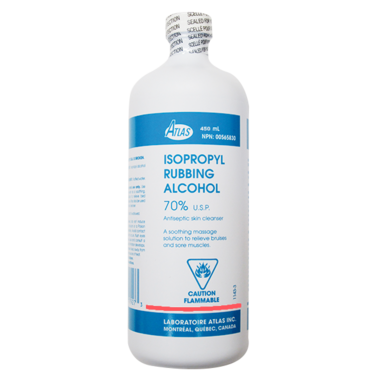 Atlas Isopropyl Rubbing Alcohol 70%