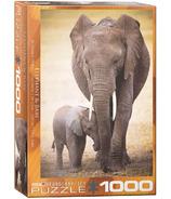 Eurographics Elephant & Baby Puzzle