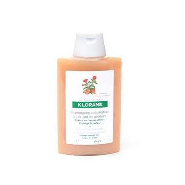 Klorane Colour Enhancing Treatment Shampoo with Pomegranate
