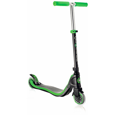 Globber Flow 125 Scooter Neon, Green and Black