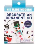 Kid Made Modern Decorate an Ornament Kit Snowman