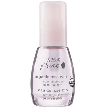 100% Pure Organic Rose Water Calming Serum