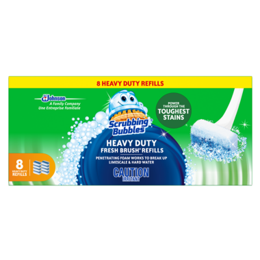 Scrubbing Bubbles Heavy Duty Fresh Brush Refills