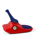 Zipfy Classic Snow Sled Red Dart