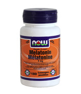 NOW Foods Chewable Melatonin 3 mg