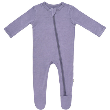 Kyte BABY Zippered Footie in Orchid