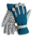 Dig It Apparel Handwear Utility-Garden Glove Blue and Grey