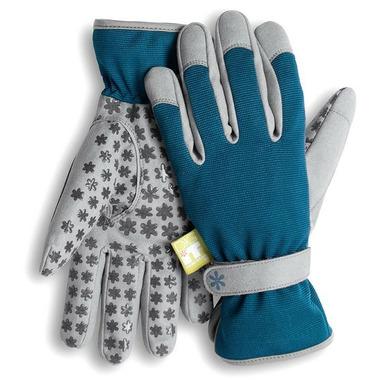 Dig It Apparel Handwear Utility-Garden Glove Blue and Grey
