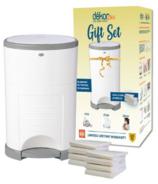 Dekor Plus White Diaper Pail Gift Set