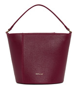 Matt & Nat Orr Crossbody Bucket Bag Garnet