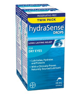 hydraSense Eye Drops For Dry Eyes Twin Pack