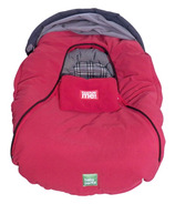 Baby Parka Carseat Cover Red