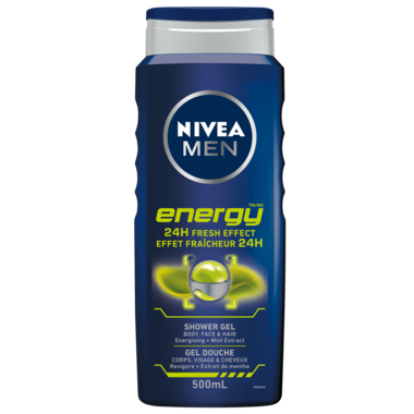 Nivea Men Energy 24H Fresh Effect Shower Gel