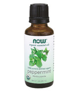 NOW Essential Oils Organic Peppermint Oil