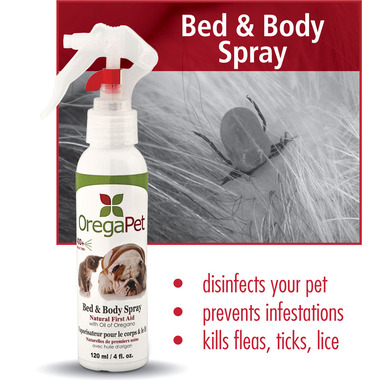 OregaPet Bed and Body Spray