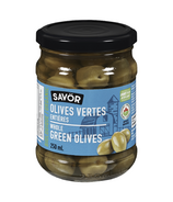 Savor Organic Whole Green Olives