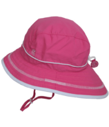 Calikids Quick-Dry Bucket Hat Extra Wide Brim Hot Pink