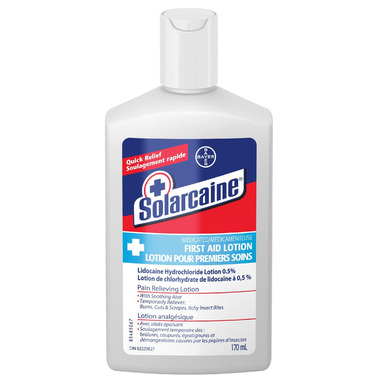 Solarcaine Medicated First Aid Lotion