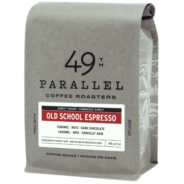 49th Parallel Coffee Old School Espresso Whole Bean