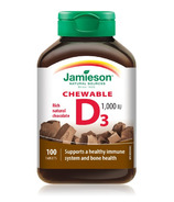 Jamieson Chewable Vitamin D3 1,000 IU