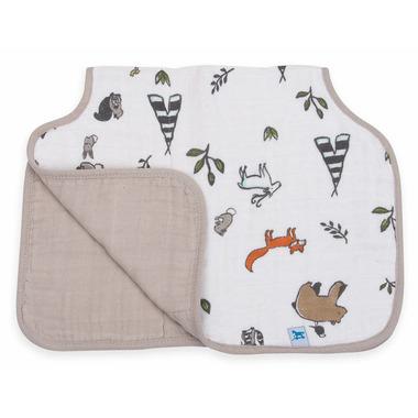 Little Unicorn Cotton Muslin Burp Cloth Forest Friends
