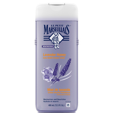 Le Petit Marseillais Lavender Honey Extra Gentle Shower Creme