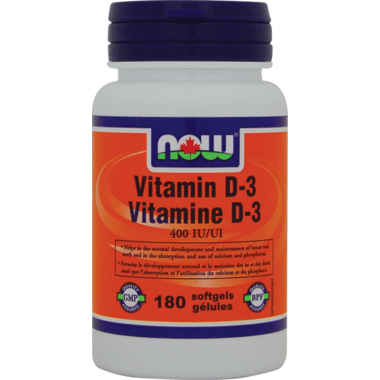 NOW Foods Vitamin D 400 IU