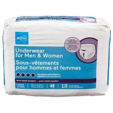 atoma Underwear for Men & Women Large