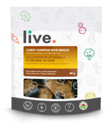 Live Organic Curry Pumpkin Nori Snacks