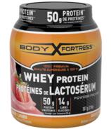 Body Fortress Whey Protein Powder Strawberry