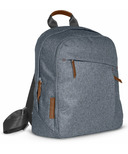 UPPAbaby Changing Backpack Gregory Blue Melange & Saddle Leather