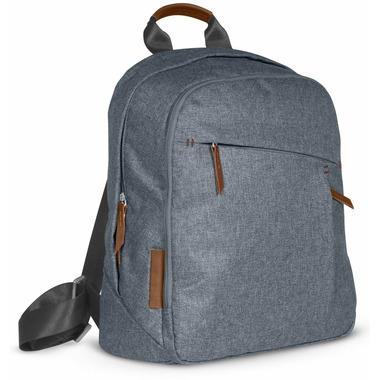 UPPAbaby Changing Backpack Gregory Blue Melange & Saddle Leather