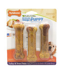 Nylabone Healthy Edibles for Puppies Sweet Potato & Turkey