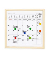 Kikkerland White Board Calendar Small