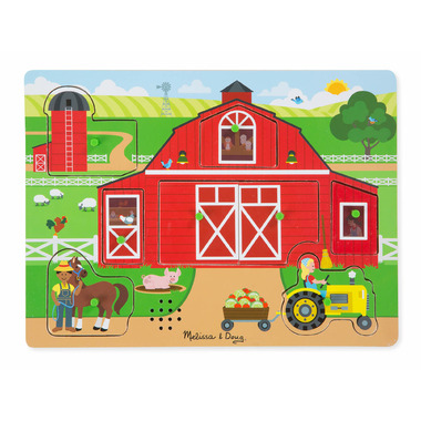 Melissa & Doug Around the Farm Sound Puzzle