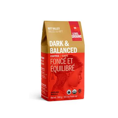 Level Ground Tanzanian Rift Valley Dark & Balanced Ground Coffee