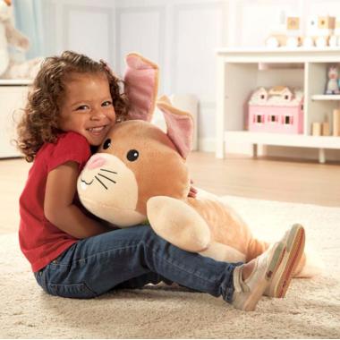 Melissa & Doug Cuddle Bunny Jumbo Plush Stuffed Animal